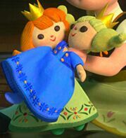Elsa and Anna's Dolls