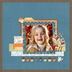 NEW! Simple Stories Hello Fall!