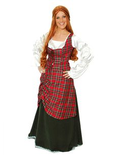 Scottish Highlander Costume for Women