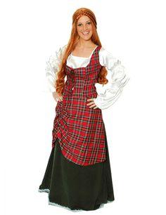 Scottish Highlander Costume for Women