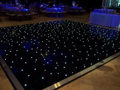 Excellent No Cost Black starlight dance floor by Wizard Connection. Popular In the countless years, we have spent on the dance floors of the world, we've skilled some scena Wedding Cards, Diy Wedding, Wedding Events, Weddings, Wedding Things, Wedding Ideas, Led Dance, Dance Floor Wedding, Event Lighting