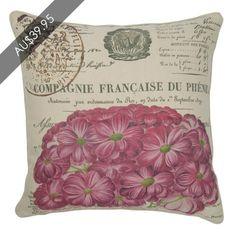 Champagne Pink Cushion  www.madraslink.com.au