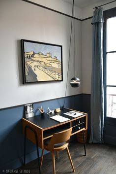 Office corner at home