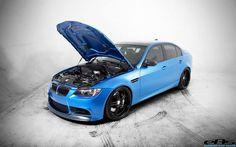 BMW M3 E90 Matte Blue