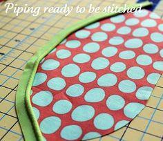 Sew Basics: Piping
