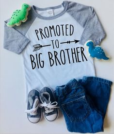 Gift for Big Brother 2019 Siblings Gift Toddler//Kids Long Sleeve T-Shirt