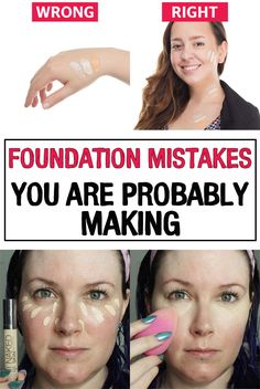 Choosing and applying the foundation properly can totally change the way your complexion looks. Check out these common mistakes to avoid them in the future!