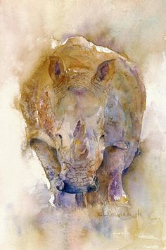 Rhino Painting - For the bedroom!!!!!