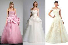Oscar De La Renta Gowns   ... Bridal Collections: Vera Wang, Oscar de la Renta, and More - The Cut