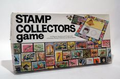 Stamp Collectors Game 1973 COMPLETE by TheGamesAreHere on Etsy