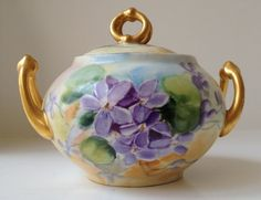 Limoges France W.G. & Co. Sugar Bowl