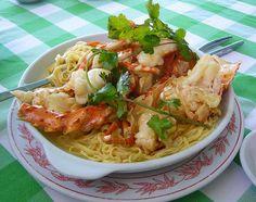 Grilled Lobster-Noodle Salad — Chef Marcus Samuelsson