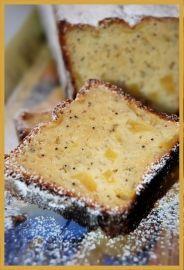 Cake pomme citron sans beurre et peu de sucre.