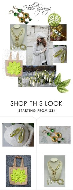 Hello Shring by varivodamar on Polyvore featuring мода, rustic and vintage