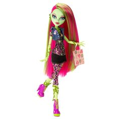 Nine year old girls like monster high dolls. Click this image to buy this beautiful monster high doll for your nine year old girl or browse a collection of adorable monster high dolls for 9 year old girls.