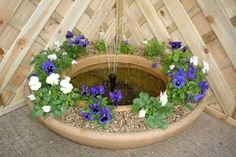 Small Backyard Water Features | Water Features include Garden Fountains, Indoor fountains, Pond ...