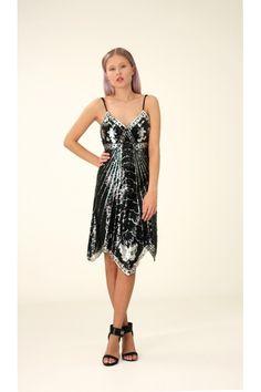 Sequin Dress, S / Annaliina Sequin Dress, Sequins, Summer Dresses, Collection, Women, Fashion, Moda, Summer Sundresses, Fashion Styles