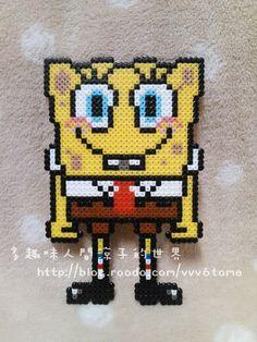 SpongeBob SquarePants hama perler beads by Ryoko