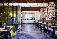 Cafe Industrial Chic