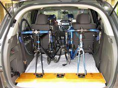 18 Ideas for bike rack diy suv Rack Velo, Suv Bike Rack, Best Bike Rack, Car Racks, Bicycle Rack, Bike Storage Apartment, Apartment Ideas, Indoor Bike Rack, Bike Repair Stand
