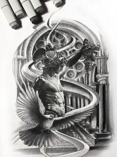 Sketch, tattoo tattoo mythology tattoos, tattoo designs и re Medusa Tattoo Design, God Tattoos, Body Art Tattoos, Tattoos For Guys, Tattoo Sleeve Designs, Tattoo Designs Men, Sleeve Tattoos, Greek Mythology Tattoos, Roman Mythology