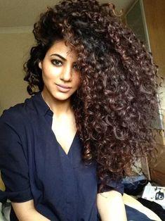 Brazilian Virgin Hair Two Tone Curly Glueless Full Lace Human Hair Wigs For Fashion Women Big Curly Hair, Curly Hair Styles, Natural Hair Styles, Deep Curly, Curly Girl, Nattes Twist Outs, Pelo Afro, Dream Hair, Brazilian Hair