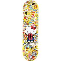 "Girl x Sanrio Mike Carroll Hello Kitty 8.12 "" Pro Skateboard Deck on sale for $29.99"