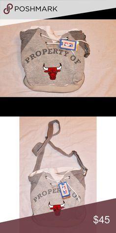 b37988b7158e89 Shop Women s NBA Gray size OS Crossbody Bags at a discounted price at  Poshmark.