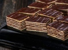 Hungarian Cake, Hungarian Recipes, Russian Cakes, Cake Cookies, I Foods, Deserts, Food And Drink, Cooking Recipes, Sweets