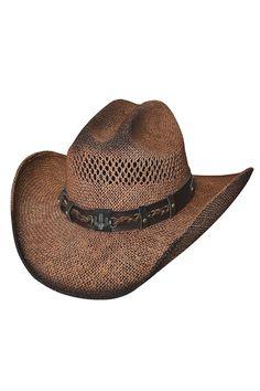 Bullhide Out of the Range Straw Cowboy Hat eea1fa610c9