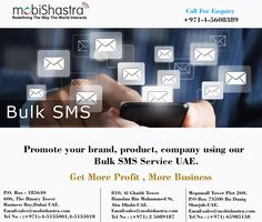 Mobile Marketing, Dubai