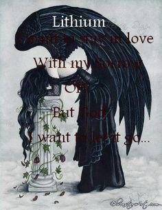 Evanescence - Lithium [ Lithium, I want to stay in love with my sorrow. Oh, but god, I want to let it go.]