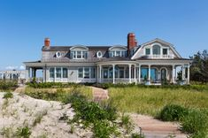 Coastal Exterior in East Quogue, NY by Robert A.M. Stern Architects