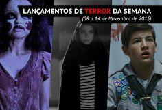 Confira os lançamentos de jogos de terror e filmes de terror nos cinemas dessa semana (08 a 14 de Novembro de 2015), com sinopses e trailers!