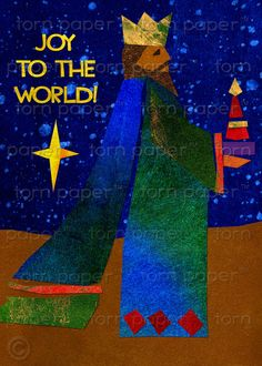 """""""Joy to the World """"  by Sharon Thurman on Etsy"""