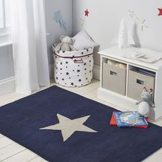 Star Tufted Rug   The White Company