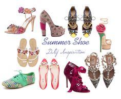 DIY Summer Shoes #summer #shoes #diy #4ways