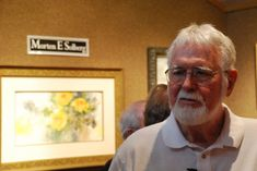 Mort Solberg recently secured representation at RS Hanna Gallery, in Fredericksburg, Texas, and the gallery celebrated with a reception.
