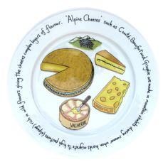 Cheese Plates - Cheese Plates & Boards - For the Table Bramble, Ceramic Plates, Porcelain Ceramics, Cheese Design, Ceramic Painting, Contemporary Artists, Painting Inspiration, Decorative Items, Tea Pots