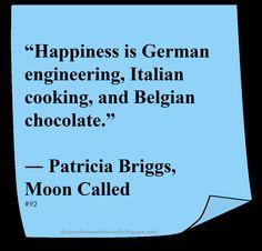 ♥ Patricia Briggs ♥ ~ #Quote #Author #Happiness