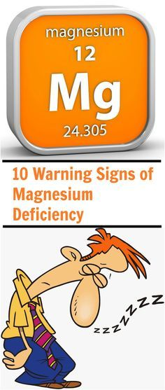 Many of the signs of low magnesium are not unique to magnesium deficiency, making it difficult to diagnose with 100% accuracy.