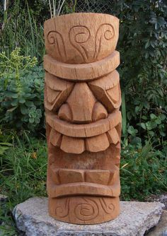 tiki chainsaw carving - Google Search
