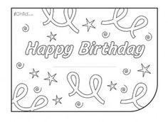 Birthday Card Design Template