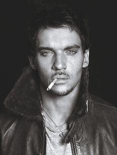 He knows he's hot. It's written all over that pout. Jonathan Rhys Meyers