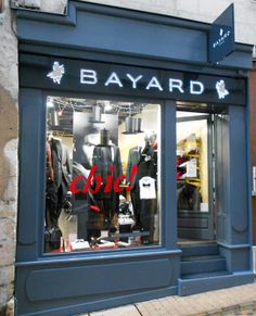 Vitrine BAYARD-Noel 2012 Windows Display men Xmas