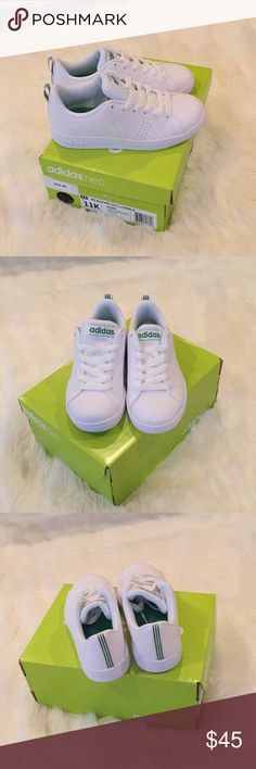 New! Unisex kids adidas neo sneakers! Brand new with box for a boy or girl! Classic Addidas Neo sneakers! Makes a great gift. Size 11 for kids. addidas Shoes Sneakers