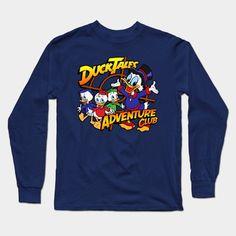 Ducktales Adventure Club Long Sleeve T-Shirt