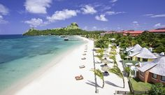 Tom Rawstorne's line of vision was bisected by Prince Harry at the Sandals hotel in St Luc...