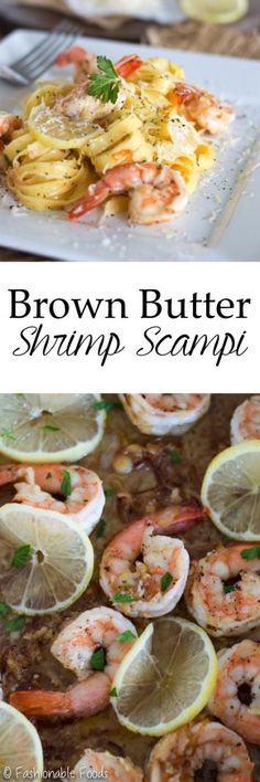 A seafood classic is made even more decadent by using browned butter! If you love shrimp scampi you just have to try my brown butter version!