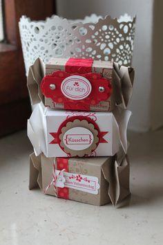 Knallbonbons mit dem Stempelset Meinem Valentinsschatz und simply sent kartenset, Bild1, gebastelt mit Produkten, Stempeln und Stanzen von Stampin' Up!